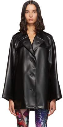 Maison Margiela Black Faux-Leather Jacket