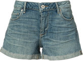 Paige denim shorts - women - Cotton/Spandex/Elastane - 24