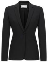 HUGO BOSS Wool Blazer Jabina 10 Black
