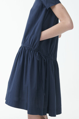 Cos Drawstring Organic Cotton Dress