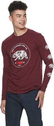 Levi's Men's Graphic Long Sleeve Tees