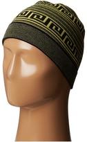 Versace Stripe and Greca Beanie Knit Hats