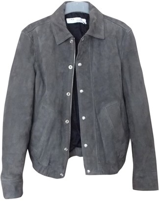 IRO Spring Summer 2019 Grey Suede Jackets