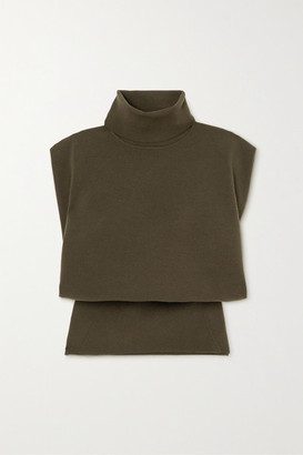 3.1 Phillip Lim Wool-blend Turtleneck Sweater - Army green