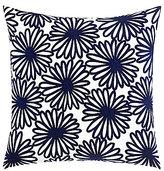 Kate Spade Ikat Dot Daisy Crewel Square Pillow