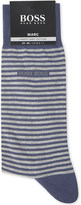 HUGO BOSS Marc striped cotton socks