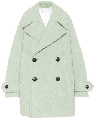 AMI Paris Wool-blend coat