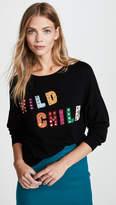 Alice + Olivia Bao Wild Child Batwing Pullover