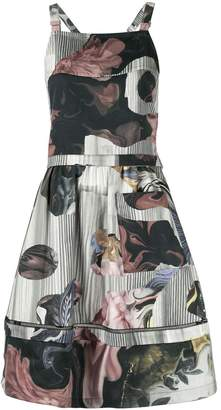 Roberts Wood collage print dress