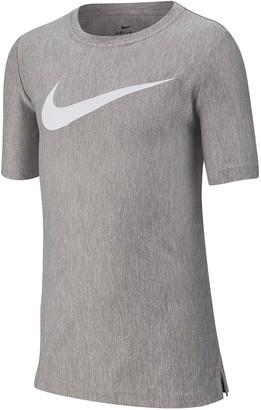 Nike Dri-FIT Crew Neck Training T-Shirt (Big Boys)