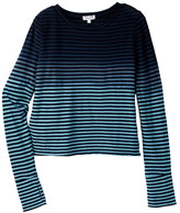 Splendid Ice Stripes Long Sleeve Top (Big Girls)