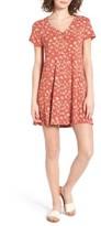 Obey Women's Bella Floral Print Dress