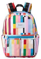 State Bags Kane Custom Stripe Mini Backpack