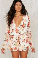 Factory Cover Ground Floral Romper