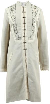 Chloé Beige Cotton Coats