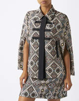 Monsoon Mia Jacquard Cape