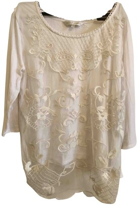 John Rocha White Top for Women Vintage