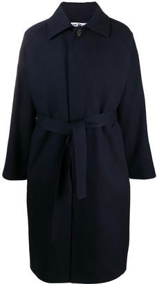 Acne Studios Oversize Belted Trench Coat