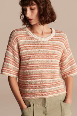 Rebecca Taylor La Vie Multi Texture Stitch Pullover