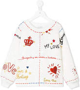 Dolce & Gabbana brocade sweatshirt