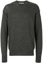 McQ by Alexander McQueen knitted jumper - men - Wool/Alpaca - S