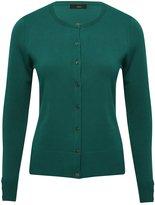 M&Co Plain button trim cardigan
