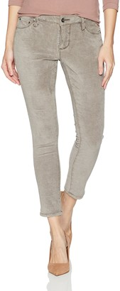 Jag Jeans Women's Mera Skinny Ankle Jean in Waffle Knit Denim