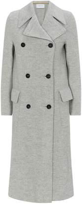 Harris Wharf London Boiled Wool Double-Breasted Coat