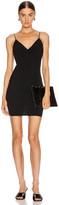 Alexander Wang Wash and Go Wool Mini Dress in Black | FWRD
