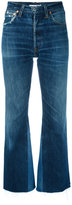 RE/DONE cropped bootcut jeans - women - Cotton - 25