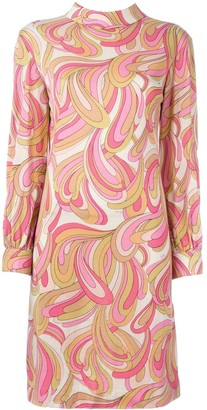 Emilio Pucci Pre Owned Printed Shift Dress