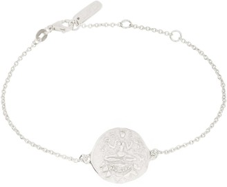 Loft & Daughter Lakshmi Coin Bracelet Silver