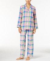 Lauren Ralph Lauren Petite Brushed Twill Pajama Set