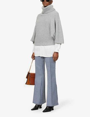 Givenchy Turtleneck dolman-sleeved cashmere jumper