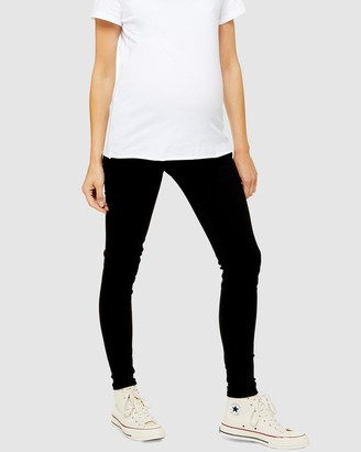 Topshop Maternity Under The Bump Jamie Jeans