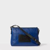 Paul Smith Women's Navy Leather Zip-Fastening Cross-Body Bag