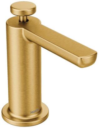 Moen Modern Soap Dispenser Brushed Gold