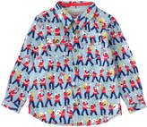 Cath Kidston Marching Band Boys Long Sleeved Shirt