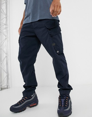 G Star G-Star Droner relaxed tapered cargo trousers in navy