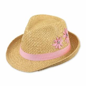 Sterntaler Baby Girls' Strohhut Hat