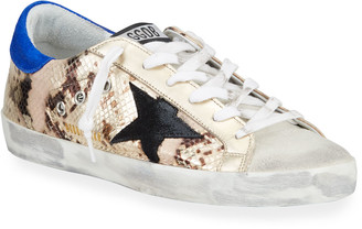 Golden Goose Superstar Python Low-Top Sneakers