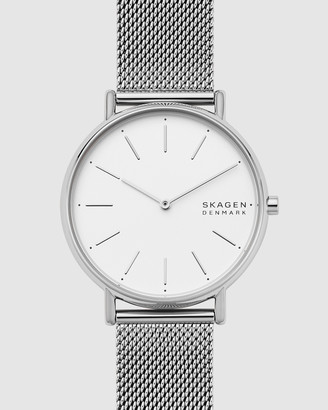 Skagen Signatur Silver-Tone Analogue Watch