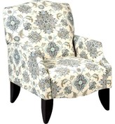 Bungalow Rose Chatswood Armchair Body Fabric: Brooklyn Graphite G1