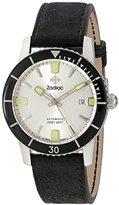 Zodiac Men's ZO9251 Heritage Analog DisplaySwiss Automatic Black Watch