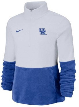 Nike Women's Kentucky Wildcats Therma Long Sleeve Quarter-Zip Pullover