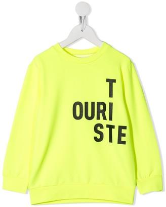 Touriste Logo Print Sweatshirt