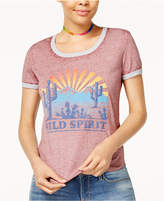 Hybrid Juniors' Wild Spirit Graphic T-Shirt