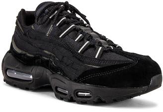 Comme des Garcons Nike Air Max 95 in Black | FWRD