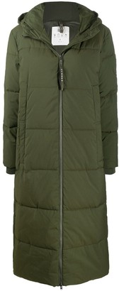 Closed Mid-Length Padded Coat