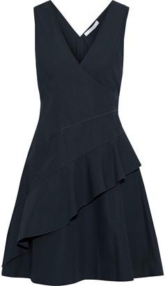 Derek Lam 10 Crosby Ruffled Cotton Mini Dress